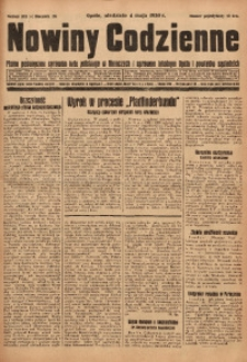 Nowiny Codzienne, 1930, R. 20, nr 103