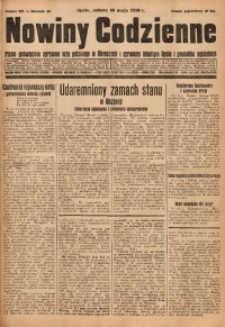 Nowiny Codzienne, 1930, R. 20, nr 108