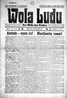 Wola Ludu, 1920, R. 1, nr 5
