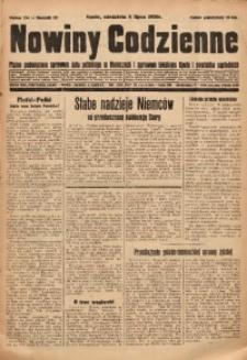 Nowiny Codzienne, 1930, R. 20, nr 154