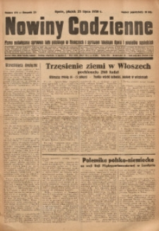 Nowiny Codzienne, 1930, R. 20, nr 170