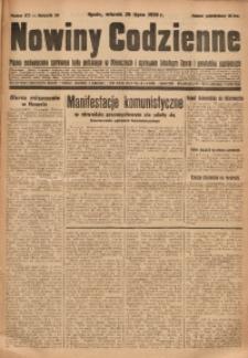 Nowiny Codzienne, 1930, R. 20, nr 173