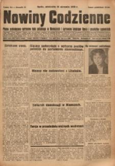 Nowiny Codzienne, 1930, R. 20, nr 184