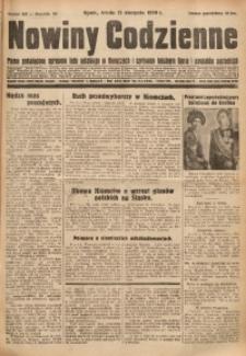Nowiny Codzienne, 1930, R. 20, nr 185 (13 września)