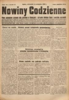 Nowiny Codzienne, 1930, R. 20, nr 186