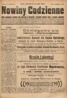Nowiny Codzienne, 1930, R. 20, nr 214