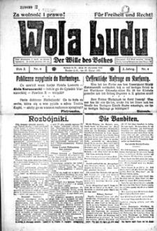 Wola Ludu, 1921, R. 2, nr 4