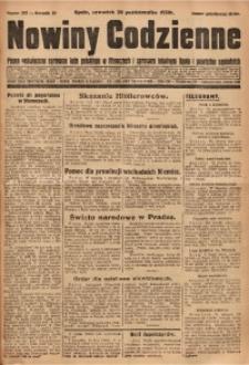 Nowiny Codzienne, 1930, R. 20, nr 253