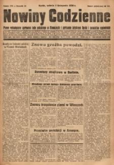 Nowiny Codzienne, 1930, R. 20, nr 255