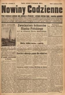 Nowiny Codzienne, 1930, R. 20, nr 260