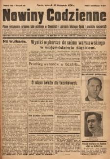 Nowiny Codzienne, 1930, R. 20, nr 268
