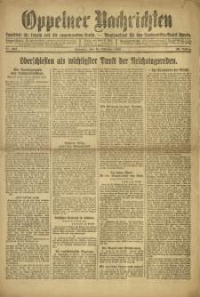 Oppelner Nachrichten, 1920, Jg. 26, Nr. 252