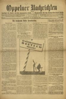 Oppelner Nachrichten, 1921, Jg. 27, Nr. 41