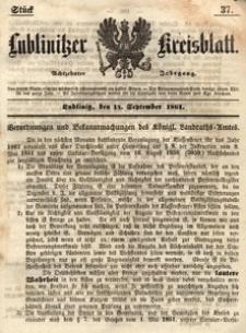 Lublinitzer Kreisblatt, 1861, Jg. 18, St. 37
