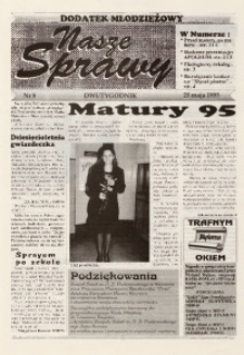 Nasze Sprawy. Dodatek młodzieżowy, 1995, nr 8