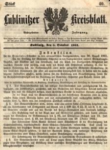 Lublinitzer Kreisblatt, 1861, Jg. 18, St. 40