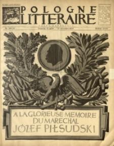Pologne Littéraire, 1935, A. 10, Nr. 110