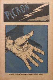 Pieron, 1920, Nr. 19