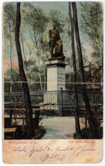Königshütte O/S. Graf Reden – Denkmal