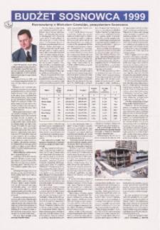 Budżet Sosnowca 1999