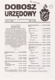 Dobosz Urzędowy, 1999, nr 2 (49)