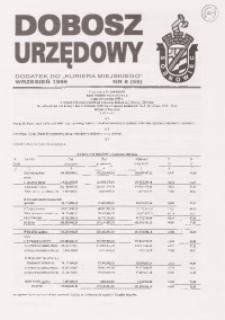 Dobosz Urzędowy, 1999, nr 8 (55)