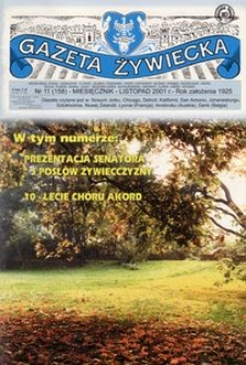 Gazeta Żywiecka, 2001, nr 11 (158)