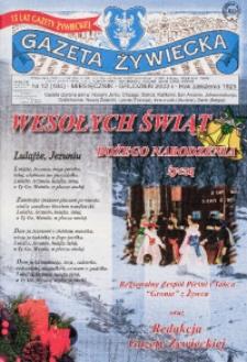 Gazeta Żywiecka, 2003, nr 12 (184)