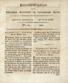Correspondenzblatt, 1811, Jg. 2, H. 2, No. 12