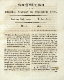 Correspondenzblatt, 1812, Jg. 3, H. 1, No. 2