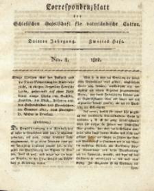 Correspondenzblatt, 1812, Jg. 3, H. 2, No. 8