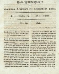 Correspondenzblatt, 1812, Jg. 3, H. 2, No. 24