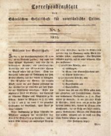 Correspondenzblatt, 1810, No. 3