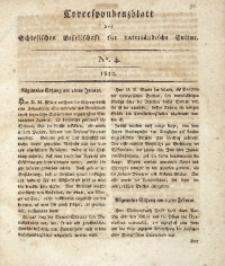 Correspondenzblatt, 1810, No. 4