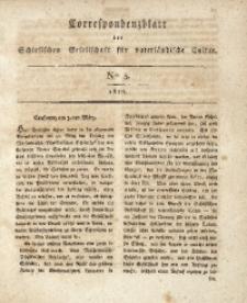 Correspondenzblatt, 1810, No. 5