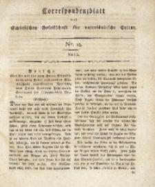 Correspondenzblatt, 1810, No. 15