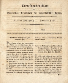 Correspondenzblatt, 1813, Jg. 4, H. 2, No. 5