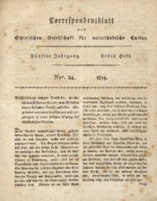 Correspondenzblatt, 1814, Jg. 5, H. 1, No. 24