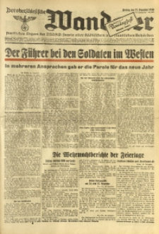 Der Oberschlesische Wanderer, 1940, Jg. 113, Nr. 357