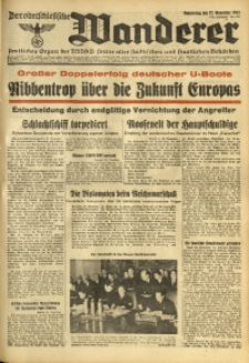 Der Oberschlesische Wanderer, 1941, Jg. 114, Nr. 327