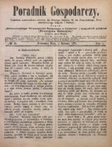 Poradnik Gospodarczy, 1871, R. 1, No 31