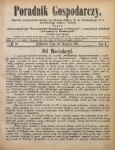 Poradnik Gospodarczy, 1871, R. 1, No 39