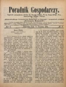 Poradnik Gospodarczy, 1872, R. 2, No 16