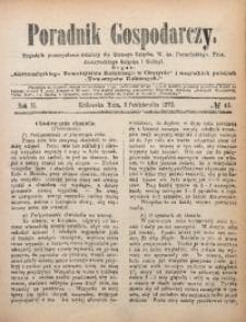 Poradnik Gospodarczy, 1872, R. 2, No 40