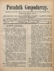 Poradnik Gospodarczy, 1872, R. 2, No 48