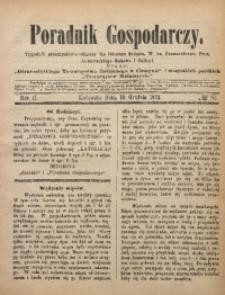 Poradnik Gospodarczy, 1872, R. 2, No 51