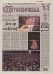 Gazeta Częstochowska, 2005, nr 15 (697)