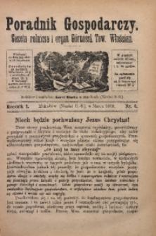 Poradnik Gospodarczy, 1879, R. 1, Nr. 6