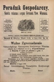 Poradnik Gospodarczy, 1880, R. 2, Nr. 13
