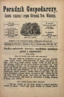 Poradnik Gospodarczy, 1880, R. 2, Nr. 19